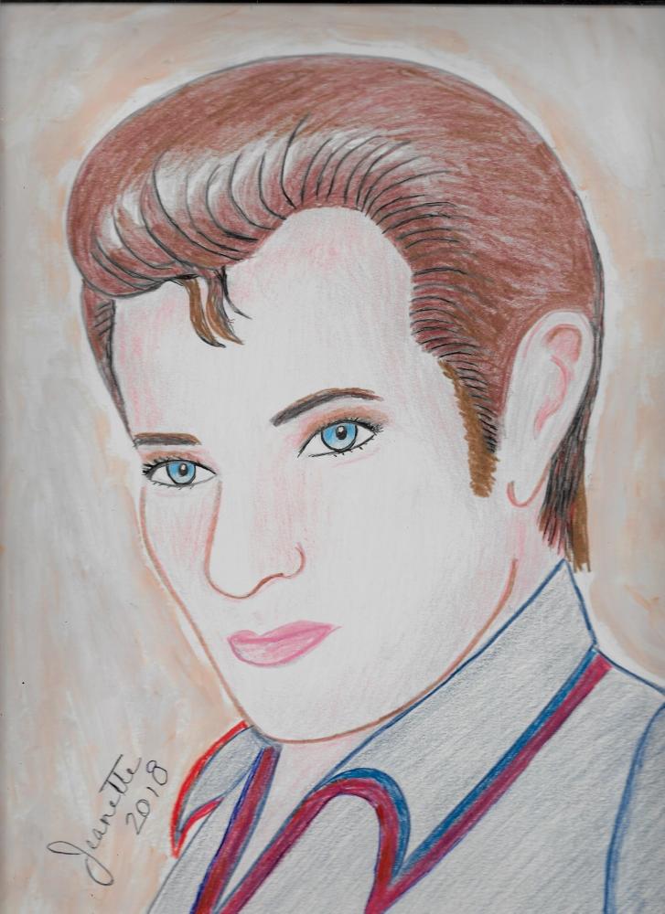 Elvis Presley by Jeanette